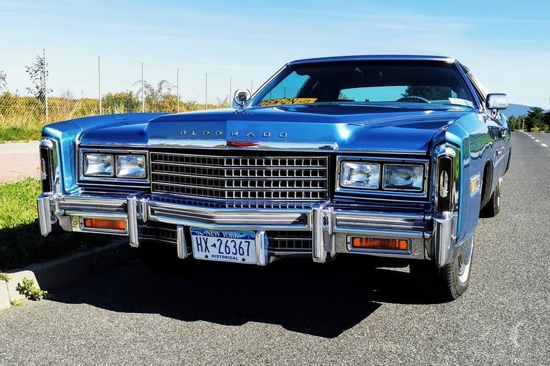 import aut z USA - sprowadzony z Ameryki Cadillac Eldorado